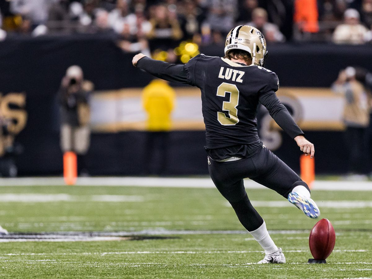 Source: Saints signing kicker Wil Lutz to five-year contract