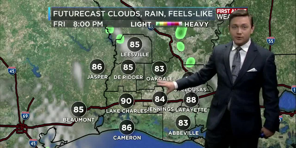 First Alert Forecast: Hot and dry weather continues this Memorial Day weekend