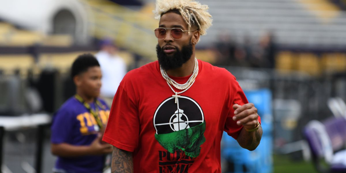 Odell Beckham Jr. jokes about leaving football after learning of Tony Romo's rumored contract