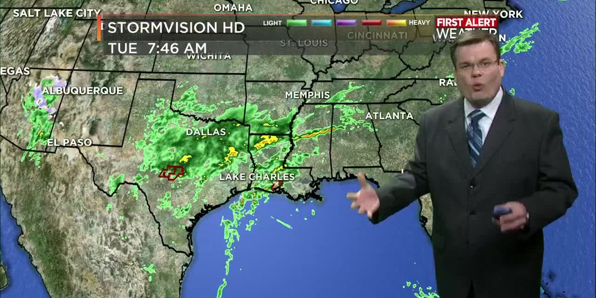 FIRST ALERT FORECAST: Rain continues through the morning; remaining cooler
