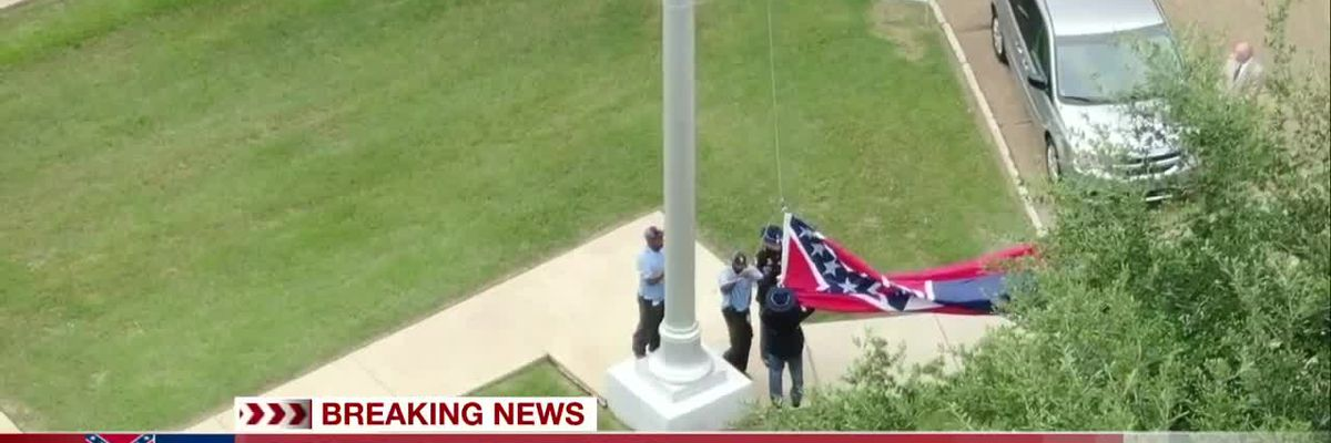 Miss. state flag officially retired after 126 years