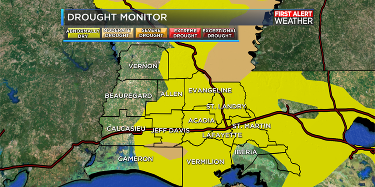 Drought monitor update