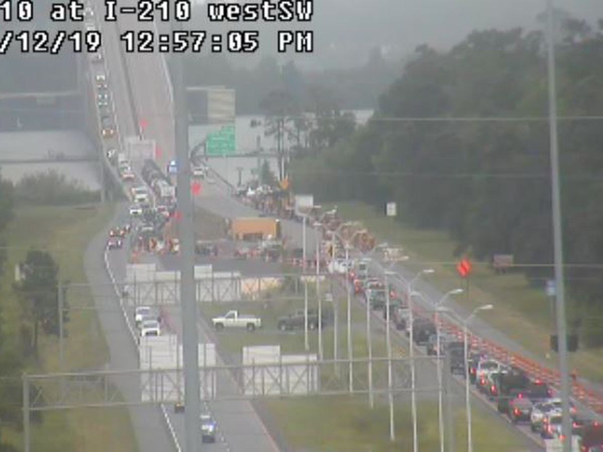 FIRST ALERT TRAFFIC: Delays reported following three-vehicle crash on I-210 EB near bridge