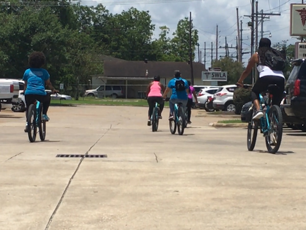 Southwest Louisiana Center for Health Services creates 'bike library' program