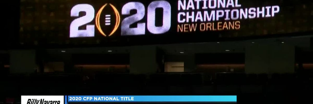 KPLC 7Sports previews CFP National Championship game