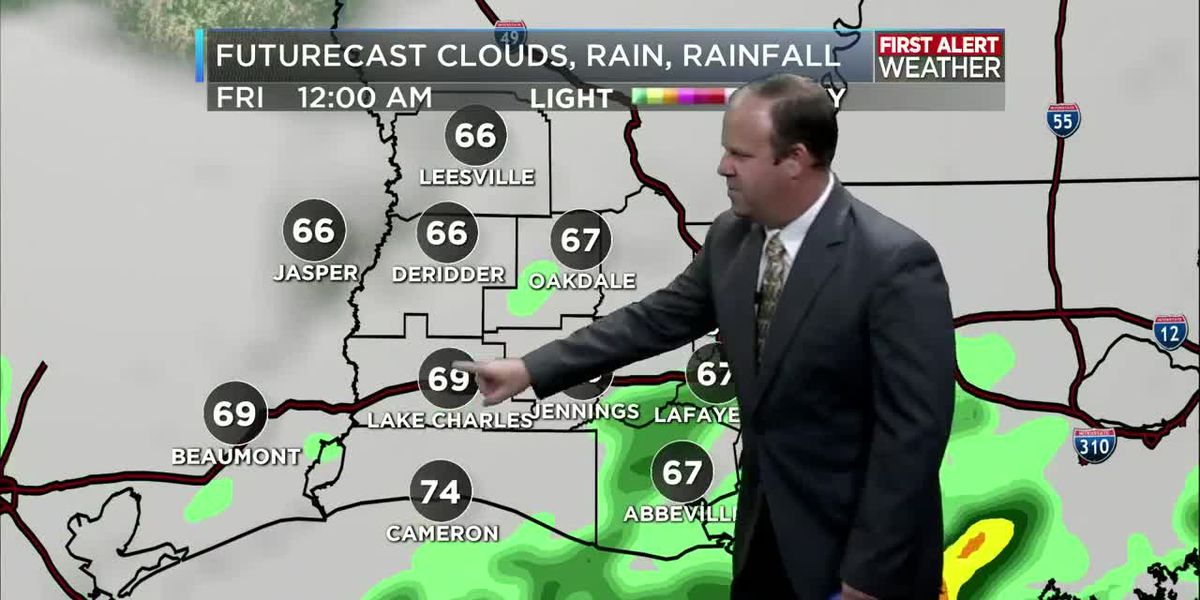 FIRST ALERT FORECAST: KPLC 7News Nightcast 10-10:30 p.m. October 23, 2019