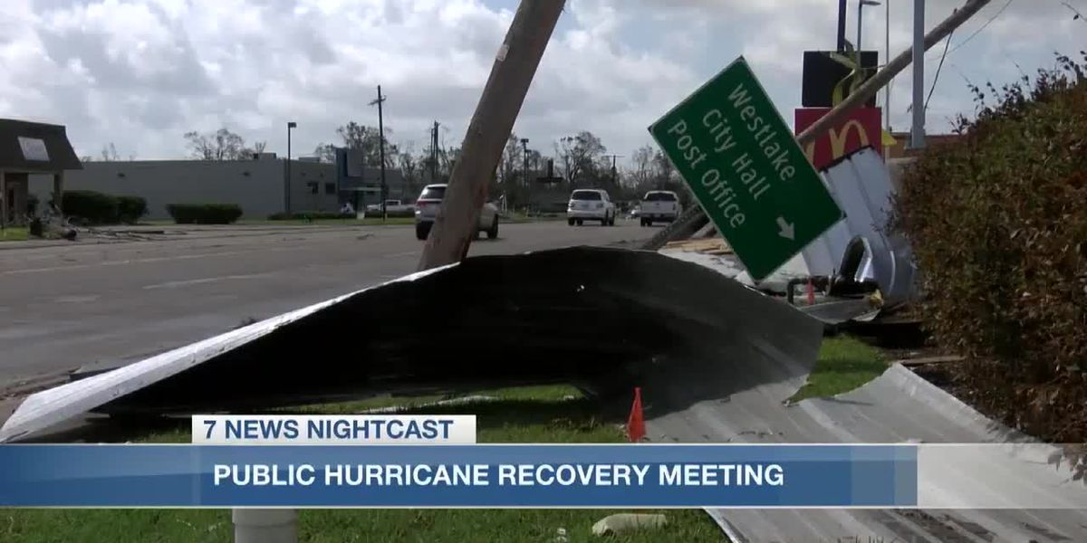 Calcasieu Police Jury encourages public input about long-term hurricane recovery
