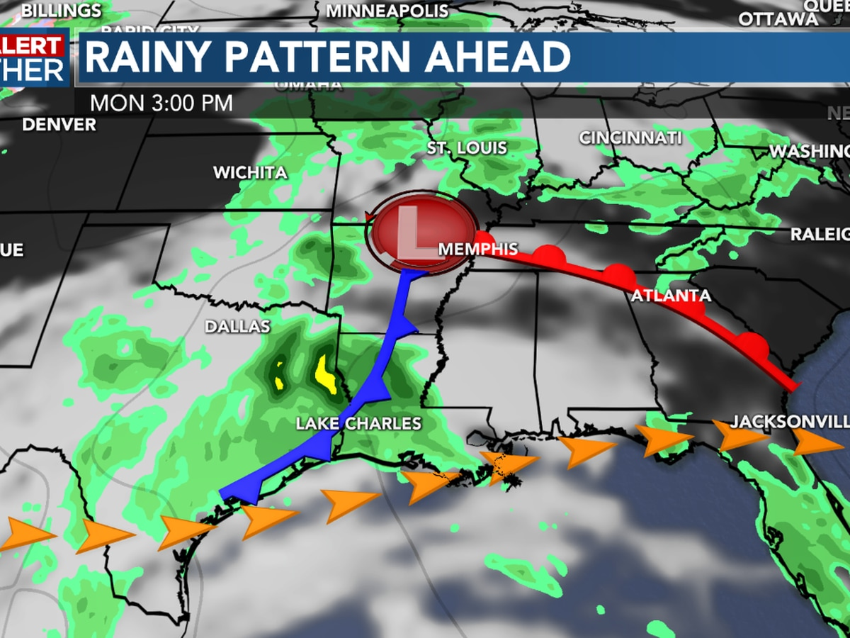 FIRST ALERT FORECAST: A mostly cloudy afternoon, but rain chances increase into the weekend