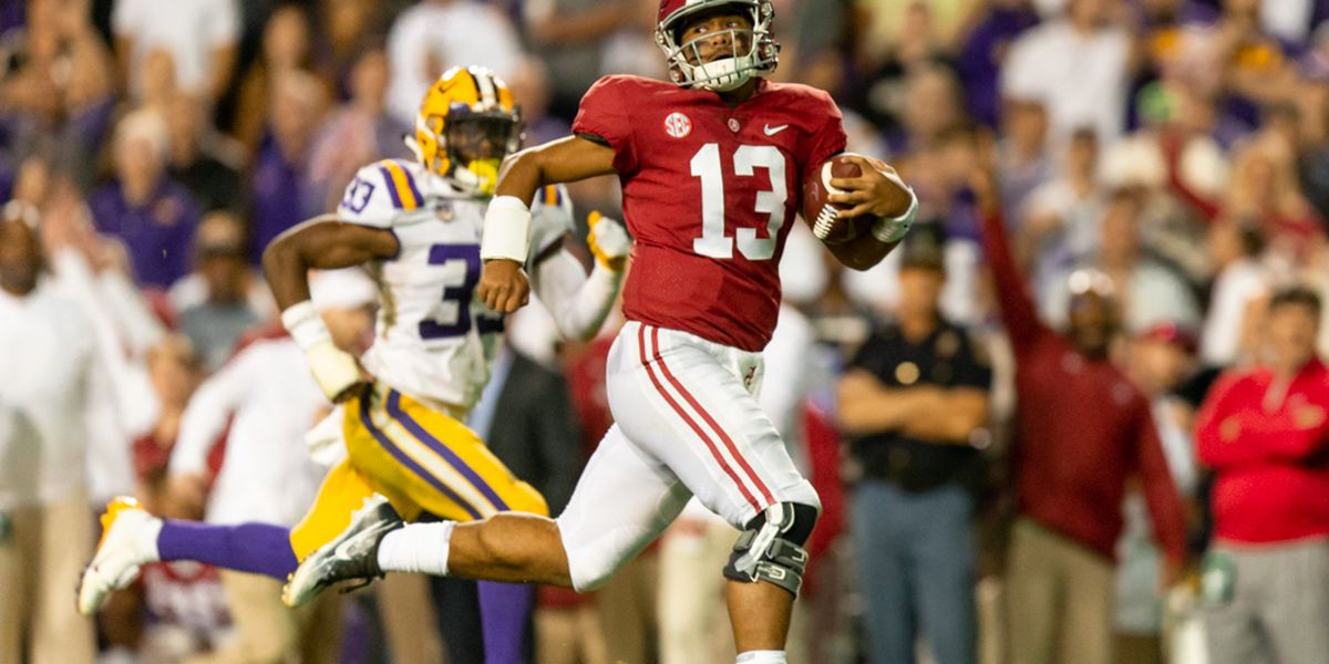 LSU drops only four spots in College Football Playoff rankings after blowout loss to Alabama