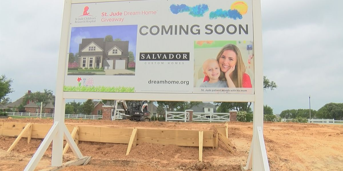 Construction underway for the 2021 St. Jude Dream Home