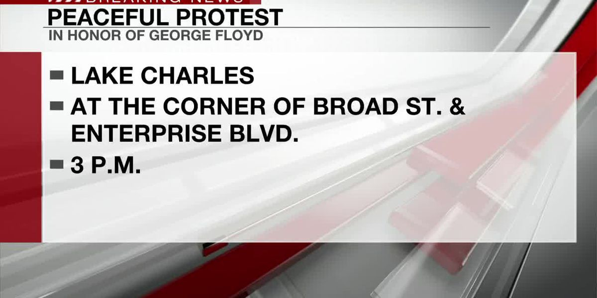 Peaceful protest planned in Lake Charles