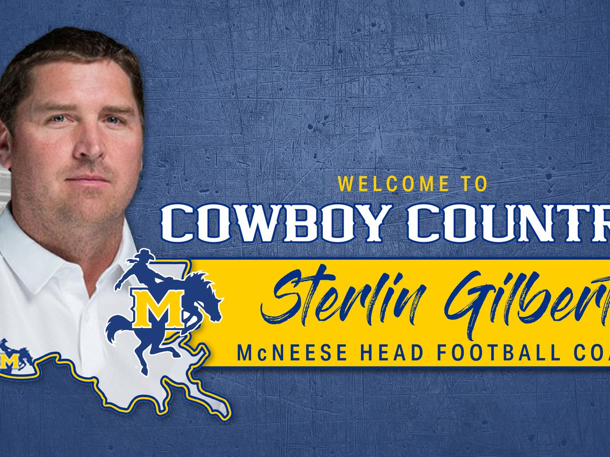 McNeese names Sterlin Gilbert as its head football coach