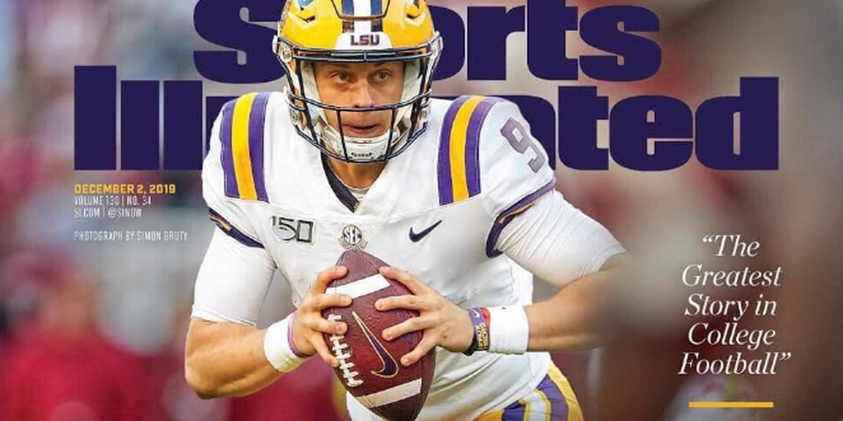 Joe Burrow graces cover of Sports Illustrated