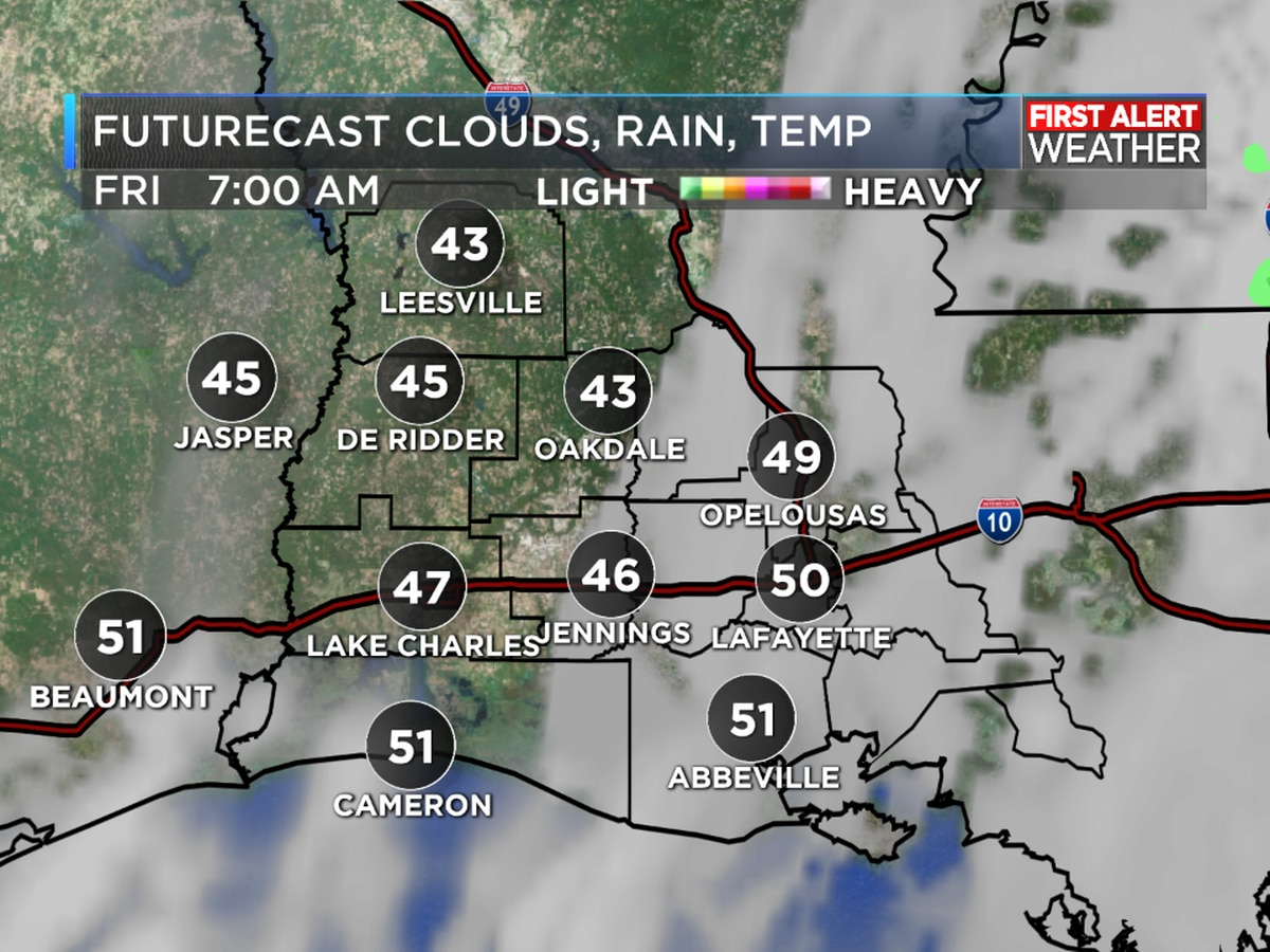 FIRST ALERT FORECAST: A nice day with cooler temperatures, but a warming trend is on the way