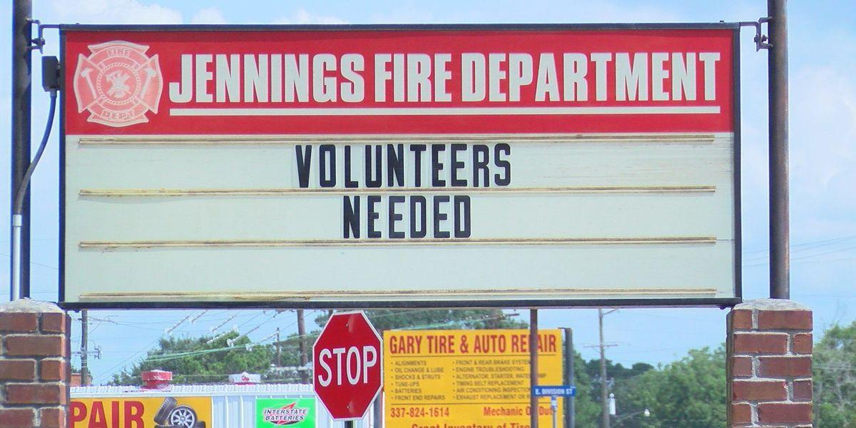 Jennings fire department in need of volunteers