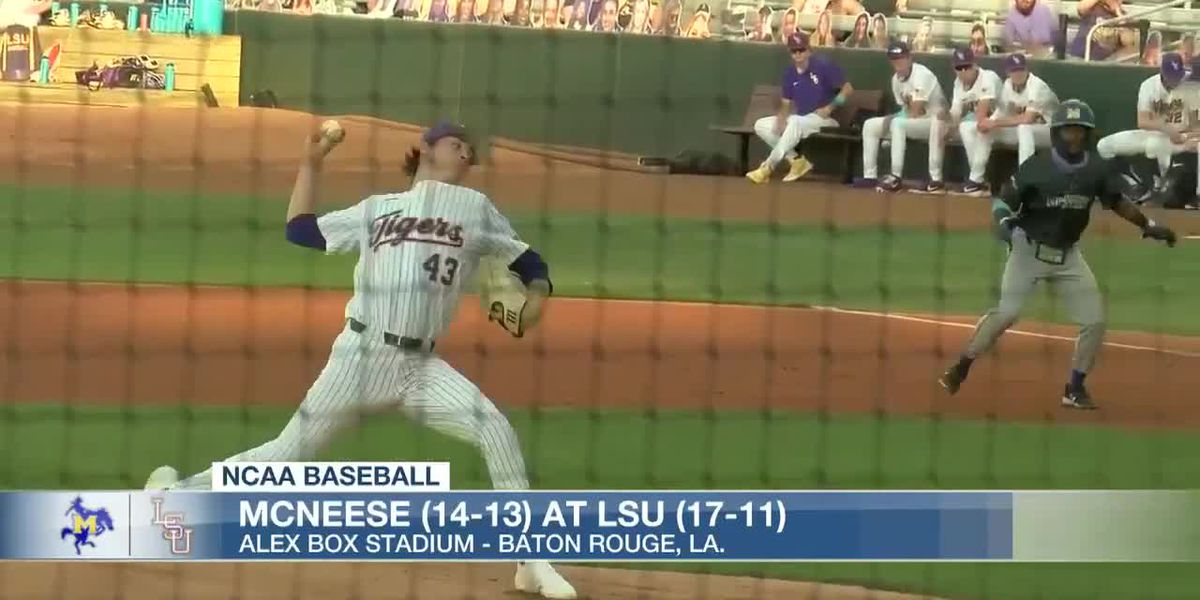 LSU takes down in-state foe, McNeese, 14-1