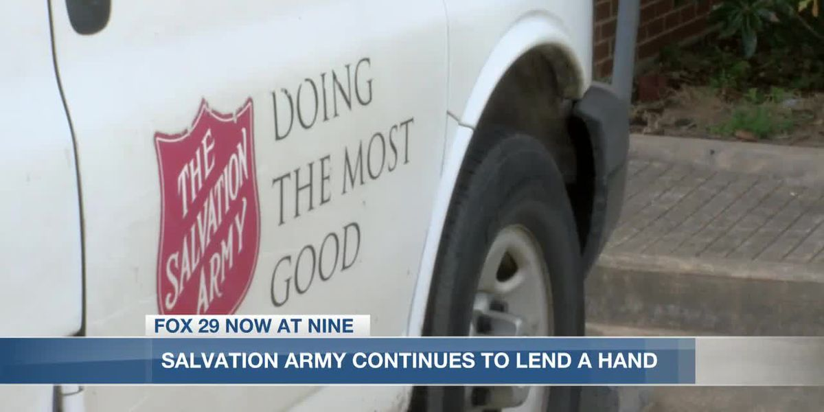 Salvation Army continues to lend a helping hand