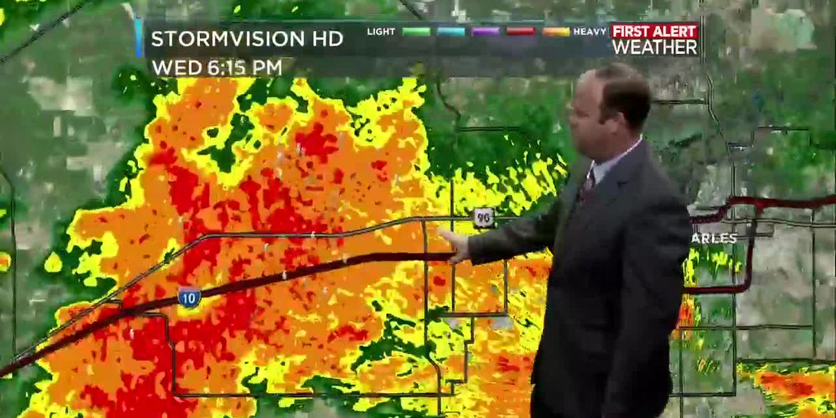 First Alert Forecast: Higher rain chances bring some relief to the heat