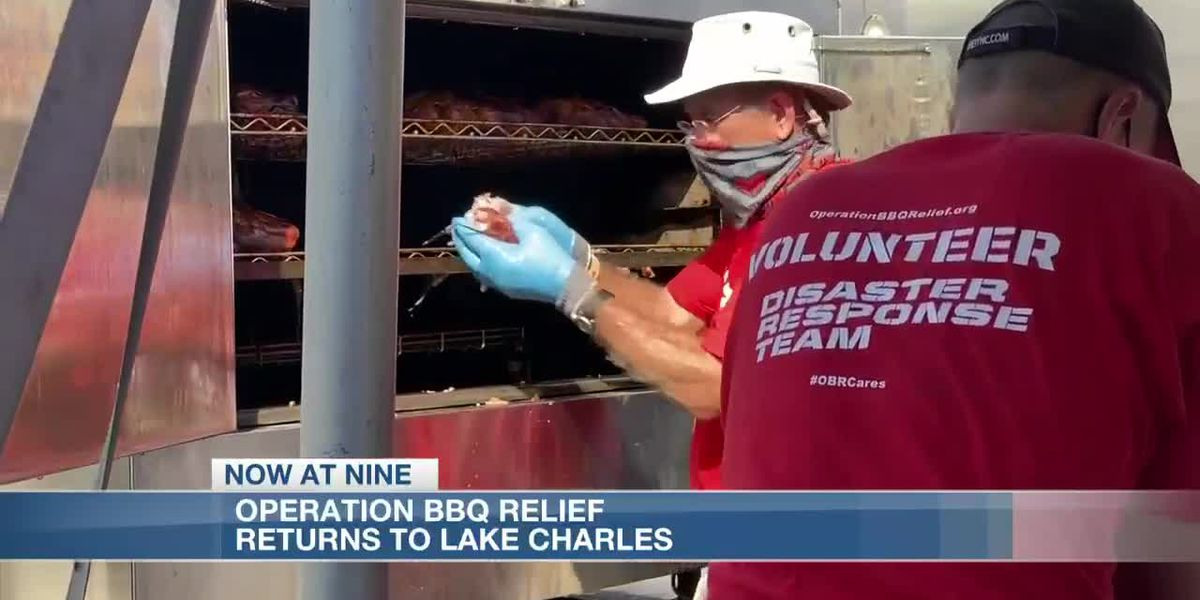 Operation BBQ Relief returns to Lake Charles after Hurricane Delta