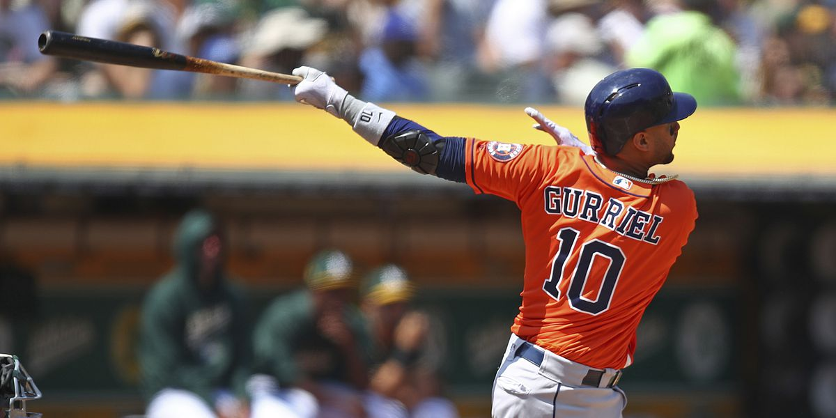 Gurriel 8 RBIs, Cole wins 10th in row, Astros rout Rockies