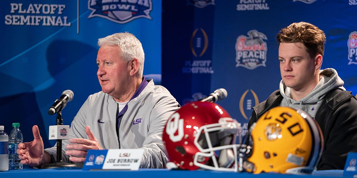 LSU's coordinators, stars on both sides of the ball talk about CFP Semifinal against Oklahoma