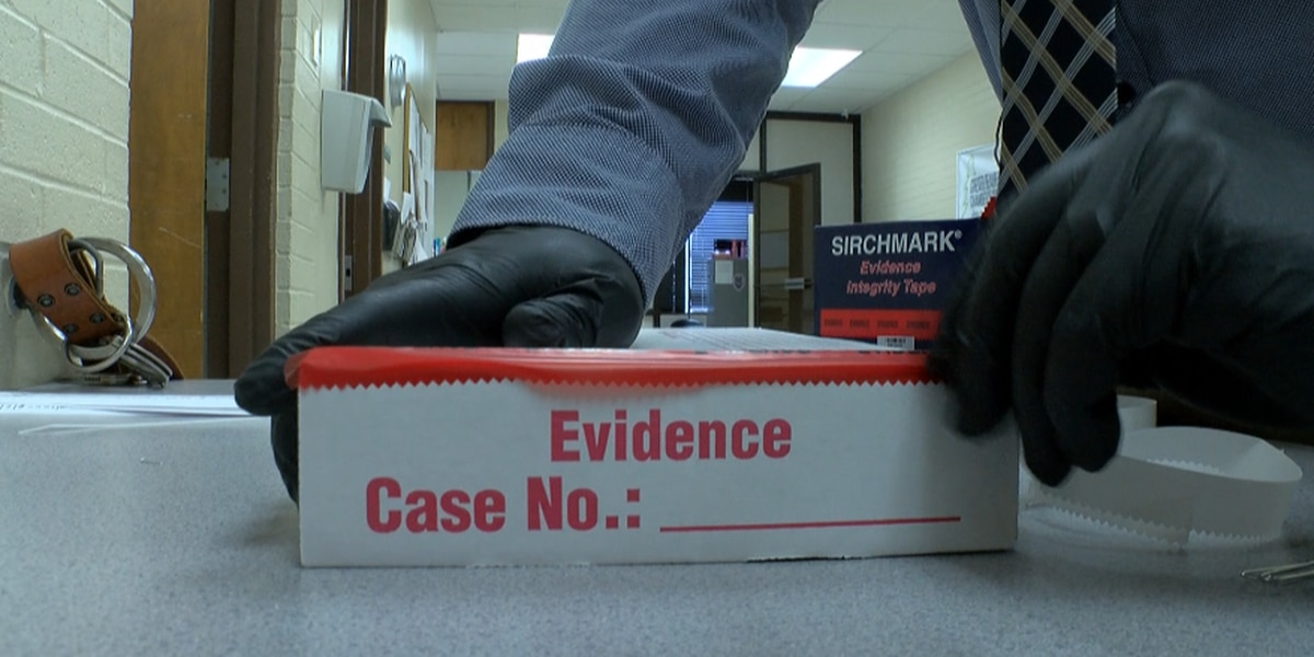 What happens to police evidence?