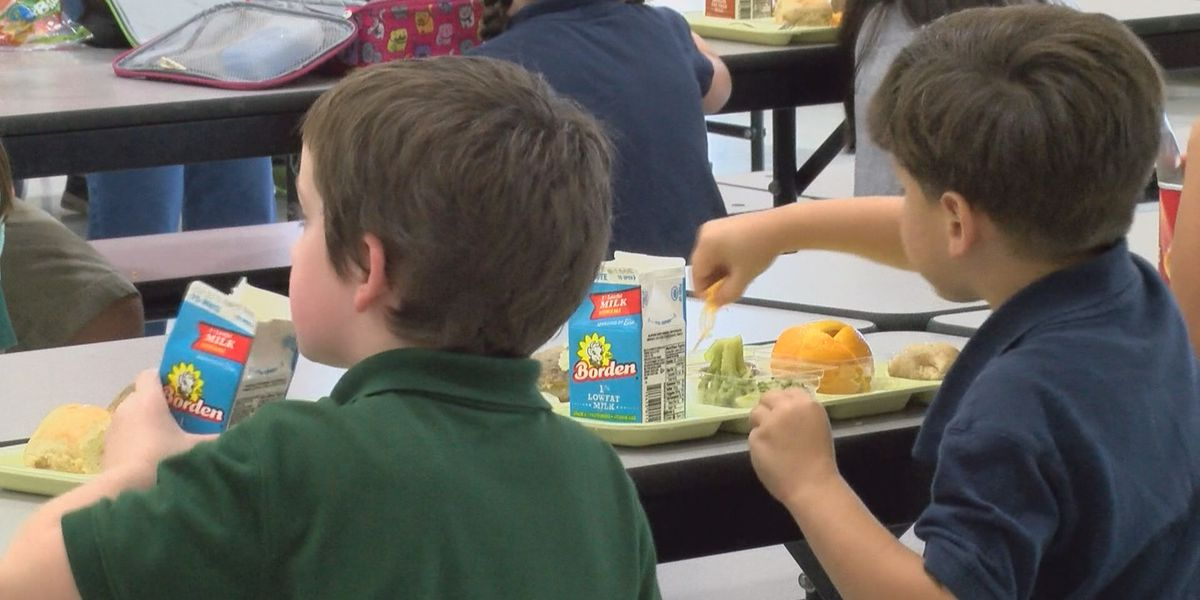 SWLA schools offering meals for minors during school closures