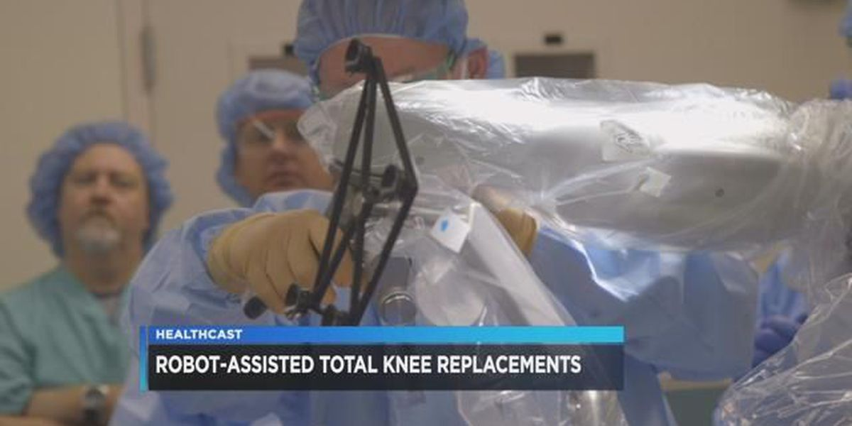 Robot-assisted total knee replacements