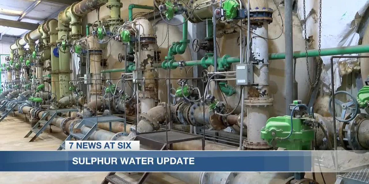 City of Sulphur water filter project out for bids