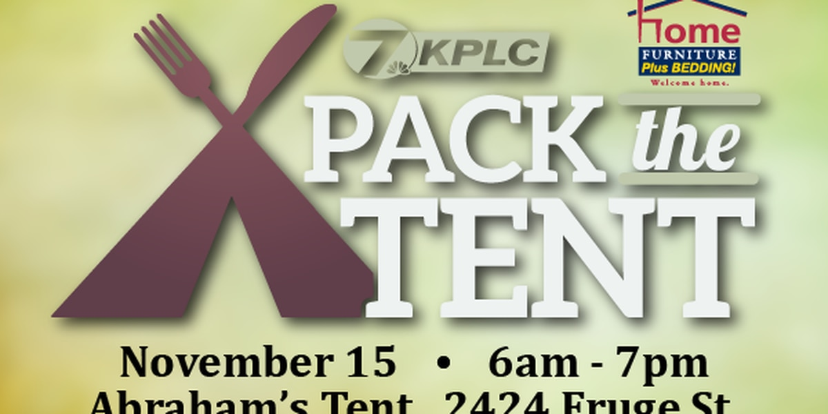 PACK THE TENT 2019: Food drive for Abraham's Tent today