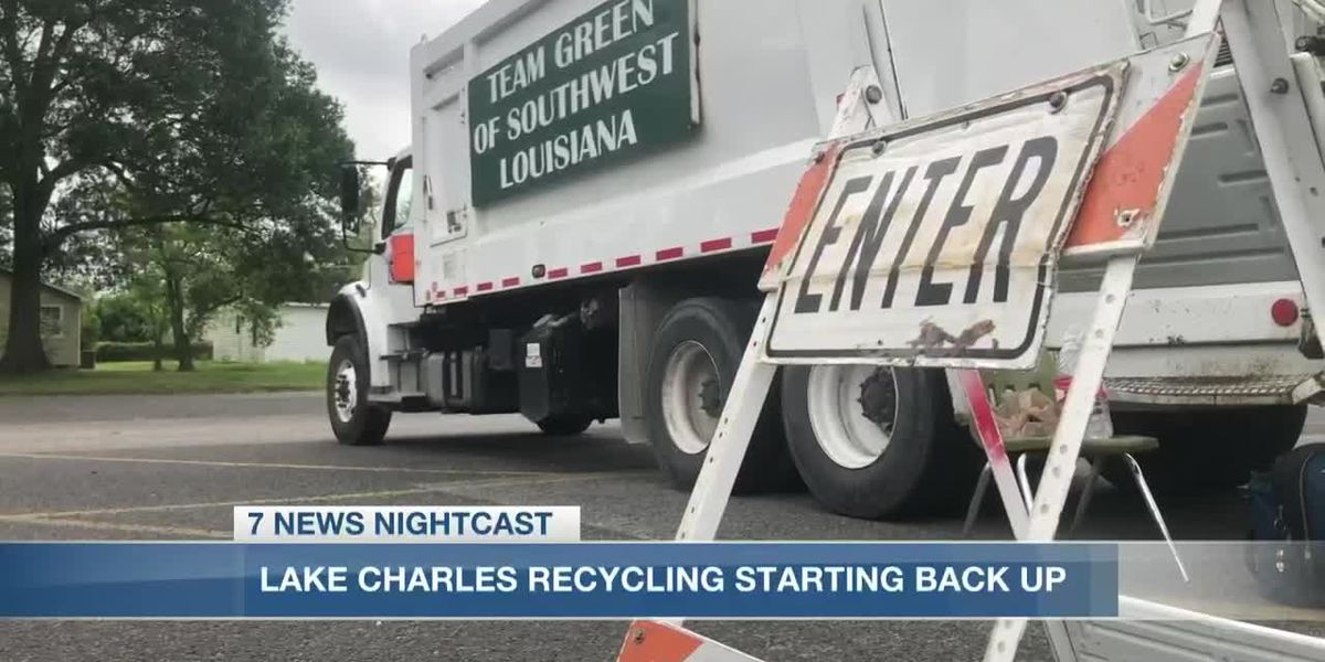 City of Lake Charles resumes recycling service