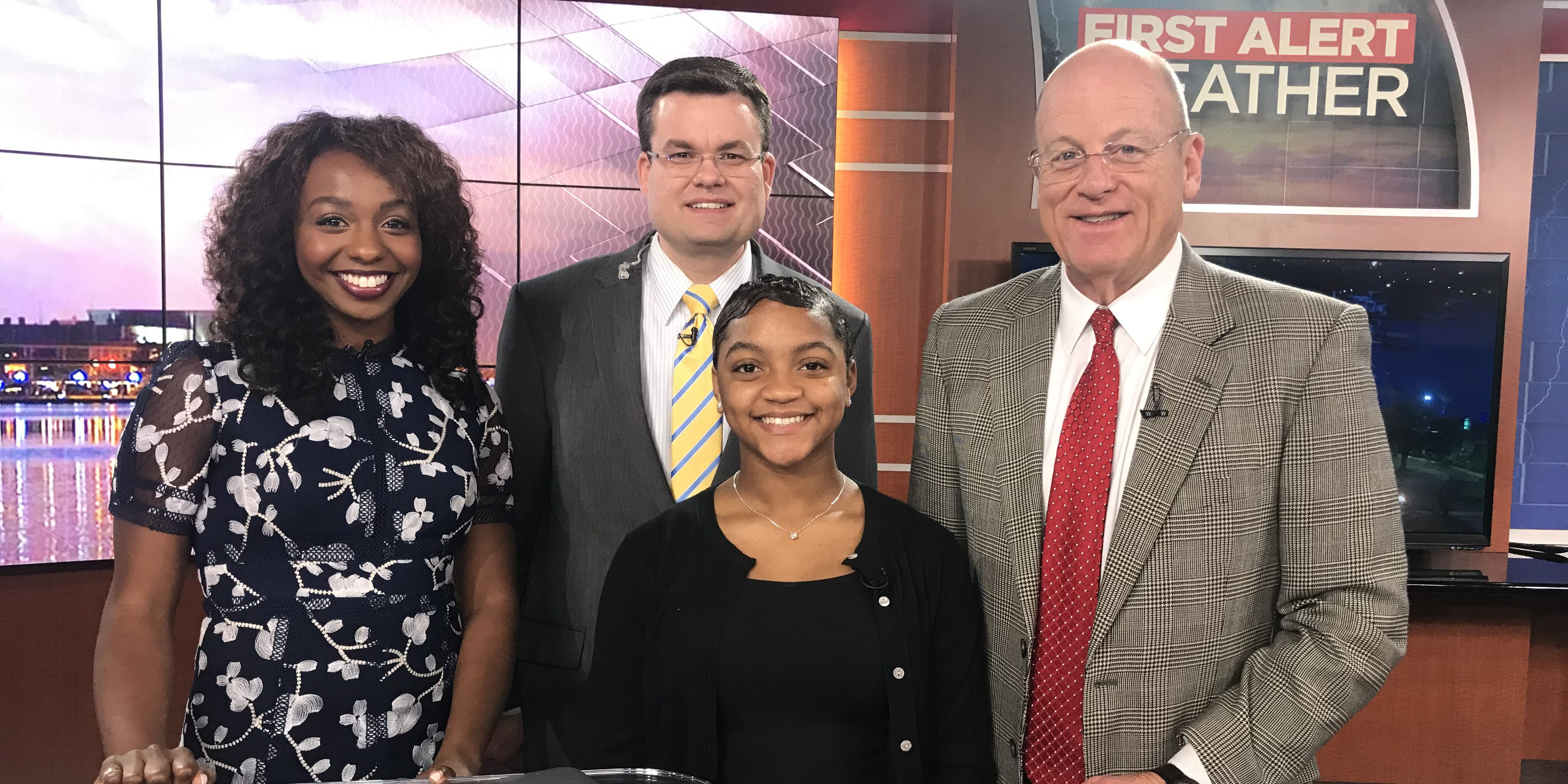 Weather with Ben: Alexandria Achane