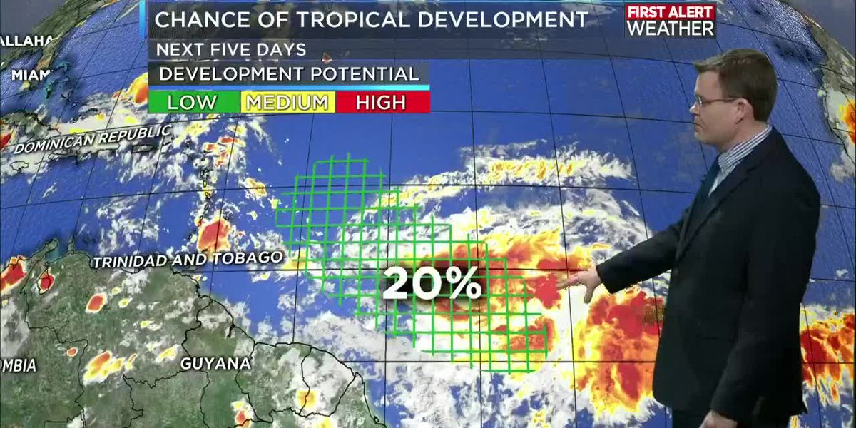 TROPICAL UPDATE: Keeping tabs on the Atlantic despite the quieter pattern for now