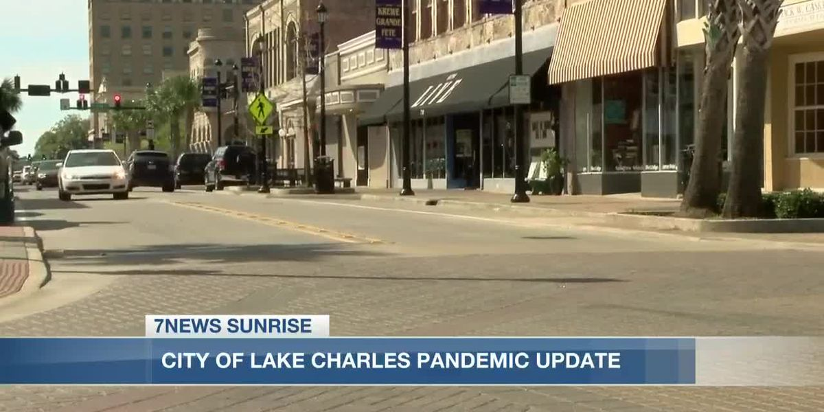 Mayor Nic Hunter gives update on Lake Charles during COVID-19 pandemic