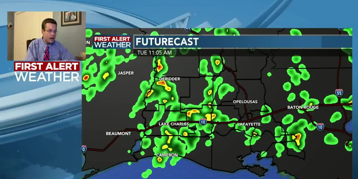 FIRST ALERT FORECAST: Our dry start will quickly turn stormy later this morning and afternoon