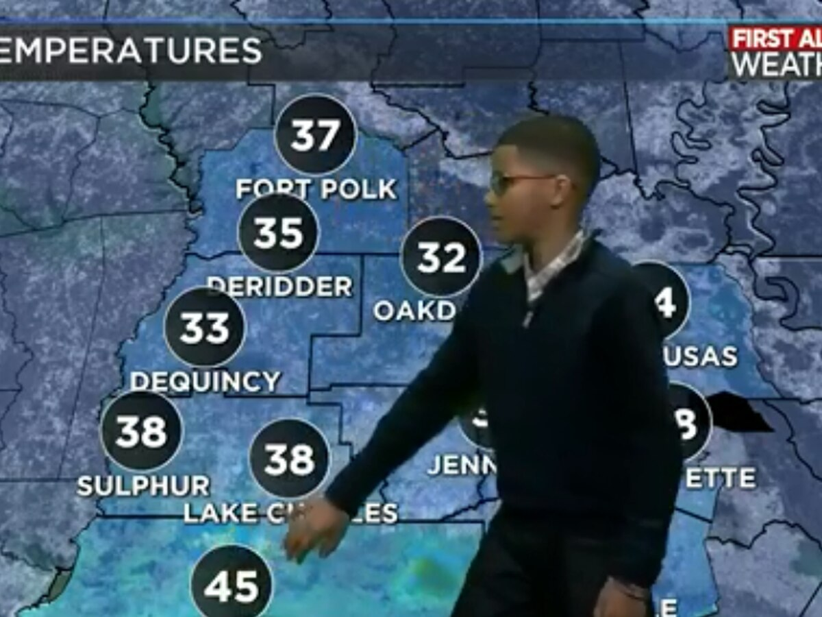 WEATHER WITH BEN: Landon Leger