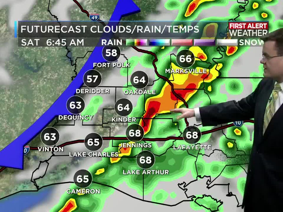 FIRST ALERT FORECAST: Dense morning fog; showers later in the day