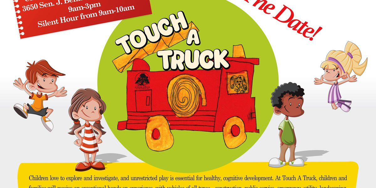 'Touch A Truck' coming to Lake Charles
