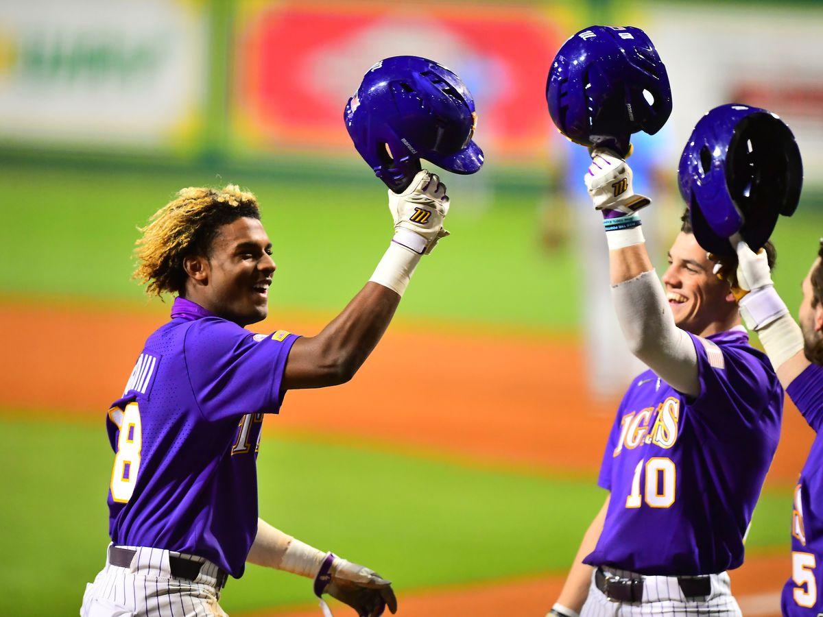 No. 11 LSU ties season high 16 runs in win over Jags