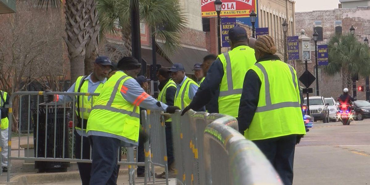 LCPD prepares for Mardi Gras