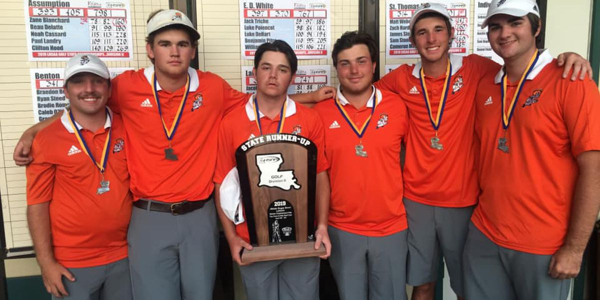 St. Louis finishes as runner-up in Division II boys golf state championship