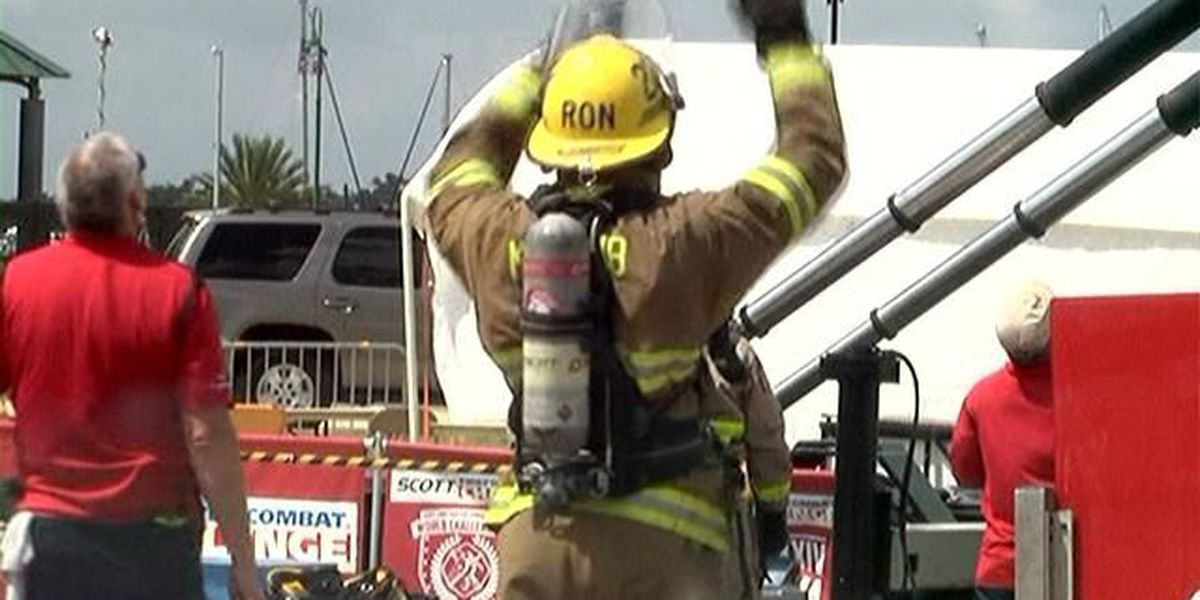 Lake Charles, other firefighters compete in combat challenge