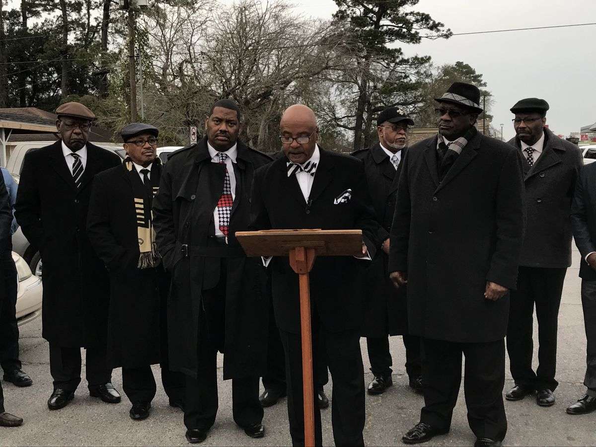 Lake Charles Baptist Ministers' Union speaks out about officer-involved shooting