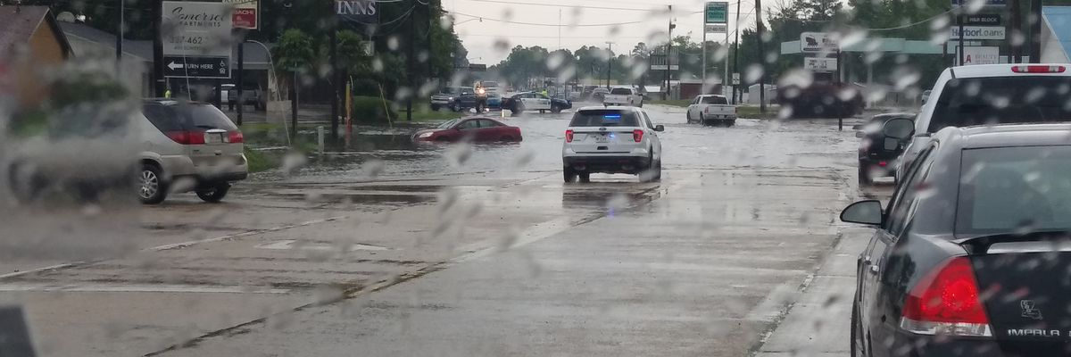 SEVERE WEATHER: Street flooding, trees down on roadways in DeRidder area