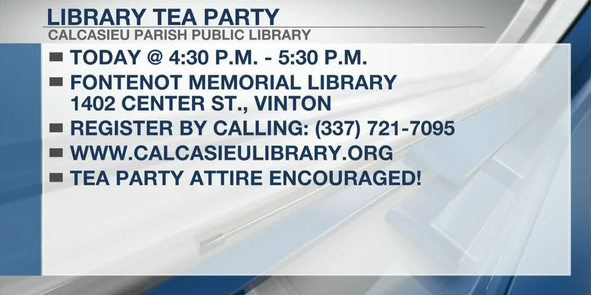 Tea party for children teaches manners and etiquette