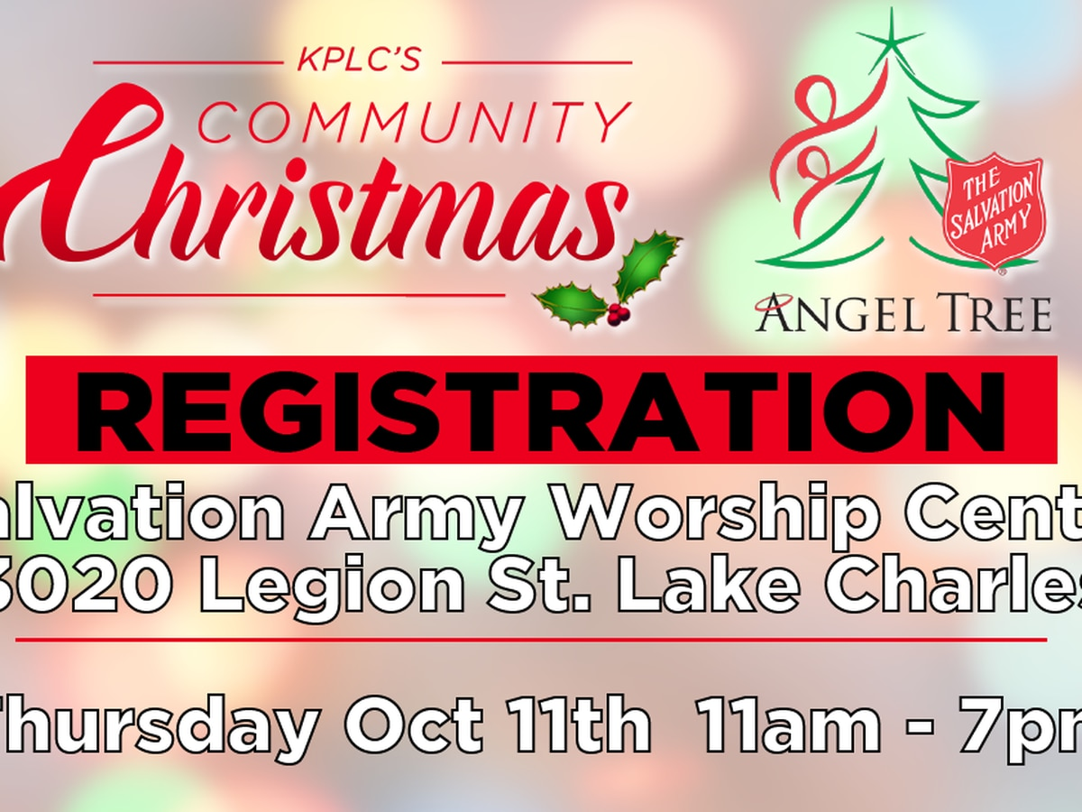 kplcs community christmas the salvation army angel tree registration - Salvation Army Christmas Angel