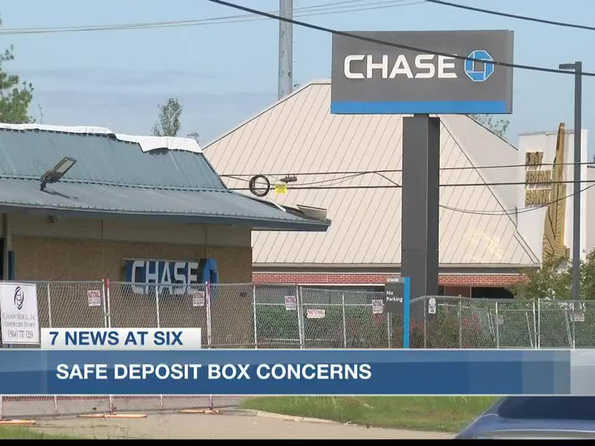 Chase Bank working to provide access to safe deposit boxes at damaged branches