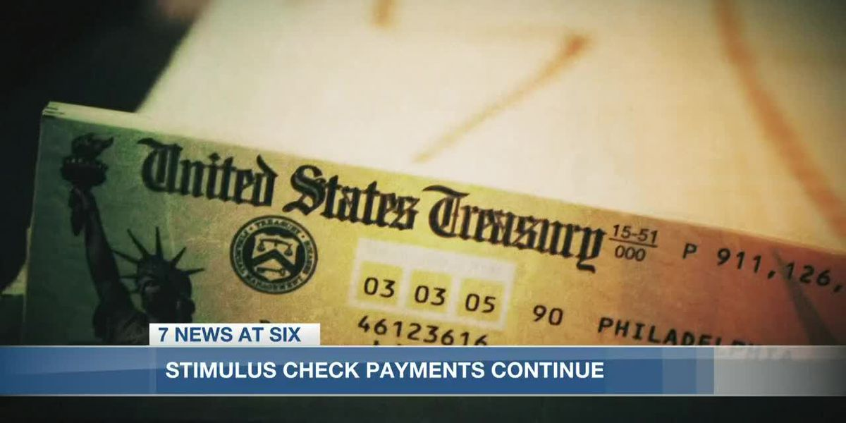 Stimulus check payments continue
