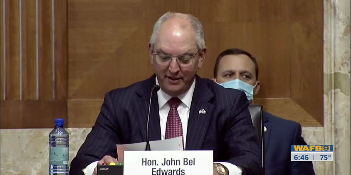 Gov. Edwards testifies before Senate Committee on impact of oil & gas industry on state's economy
