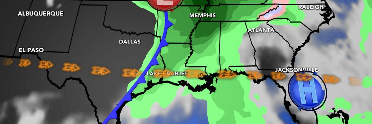 First Alert Forecast: Another front arrives overnight with cooler weather for the next few days...